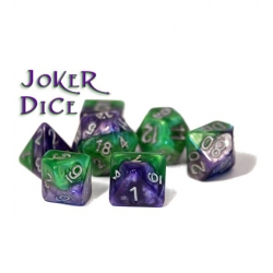 Halfsies Dice - Joker (Poly 7 Set)