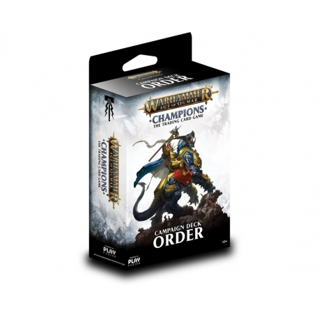 Warhammer Age of Sigmar: Champions Wave 1 Campaign Deck - Order