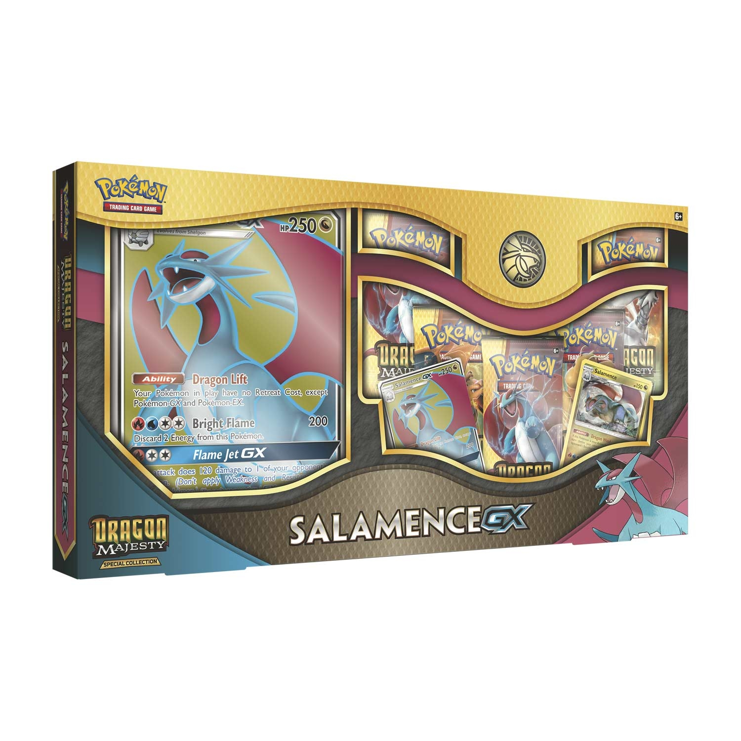 Pokemon TCG: Dragon Majesty Special Collection - Salamence