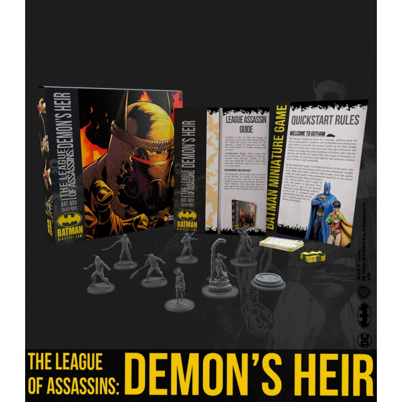 The League Of Assassins: Demon's Heir - League of Shadows