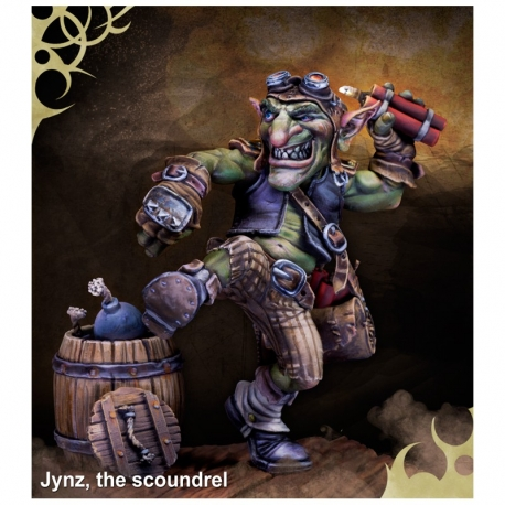 Jynz, the scoundrel