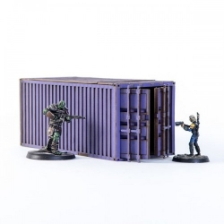 Industrial Container - Purple