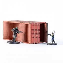 Industrial Container - Red