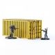 Industrial Container - Yellow