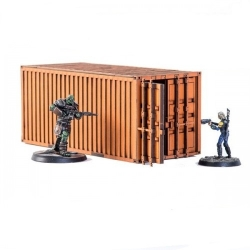 Industrial Container - Orange