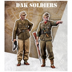 DAK soldiers - 48mm Scale