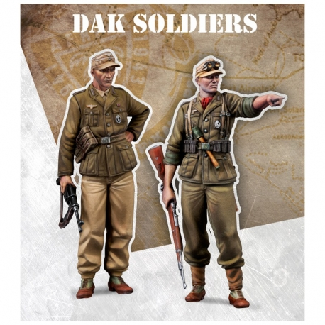 DAK soldiers - 72mm Scale