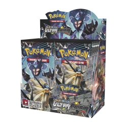 Pokemon TCG: Sun & Moon 5 Ultra Prism Sleeved Booster Display
