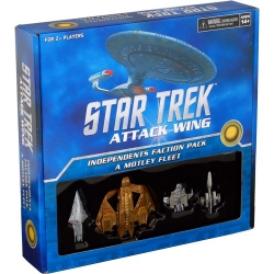 Star Trek Attack Wing: Independents Faction Pack - A Motley Fleet