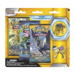 Pokemon TCG: Legendary Beasts Collector's Pin 3-Pack - Raikou