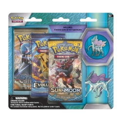 Pokemon TCG: Legendary Beasts Collector's Pin 3-Pack - Suicune