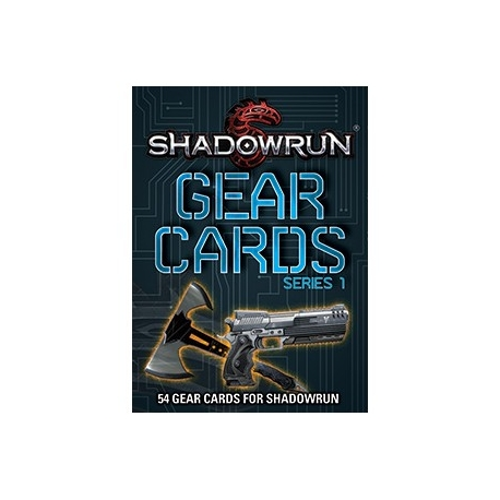 Shadowrun Gear Cards Series 1