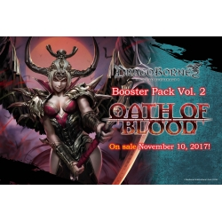 Dragoborne: Oath Of Blood Single Booster Vol 2
