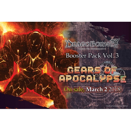 Dragoborne: Gears of Apocalypse Single Booster Pack Vol. 3