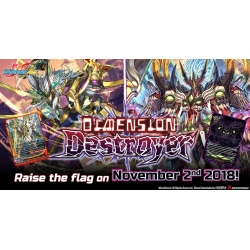BFE Future Card Buddyfight Ace Single Booster Vol. 2 Dimension Destroyer