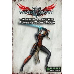 Wrath & Glory Character Talents and Psychic Powers Card Pack (55-Card Pack)