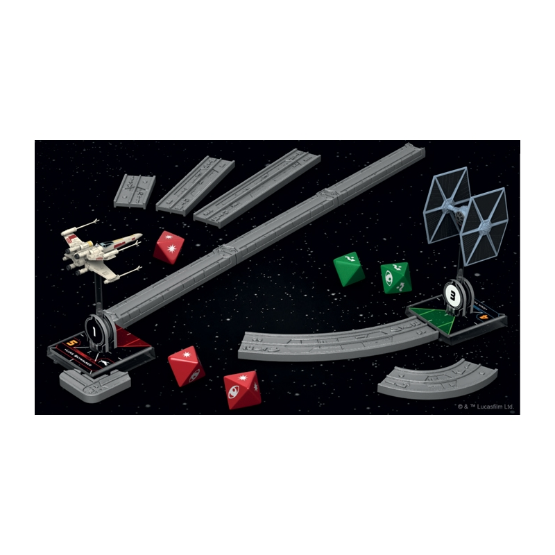 Star Wars X-Wing Deluxe Movement Tools and Range Ruler Fantasy Flight Games