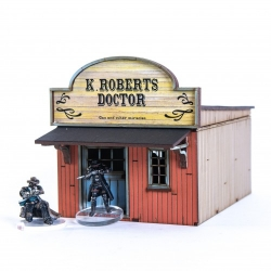 32mm American Legends Side Street Building 2