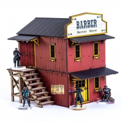 32mm American Legends Main Street Building 1
