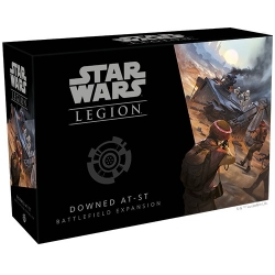 Downed AT-ST Battlefield: Star Wars Legion Exp