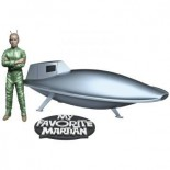 My Favourite Martian : Spaceship and Uncle Martin Kit