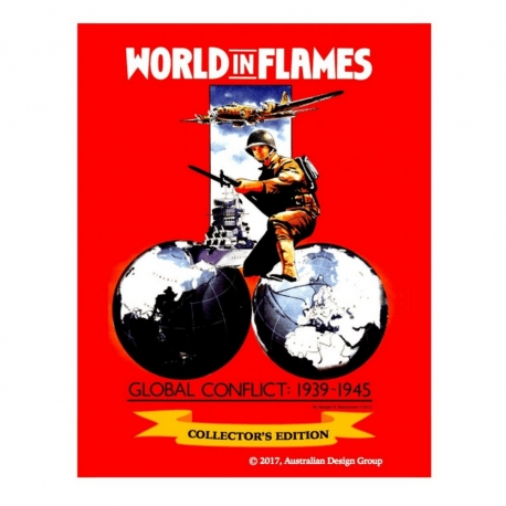 World in Flames Collector's Edition: Deluxe Exp