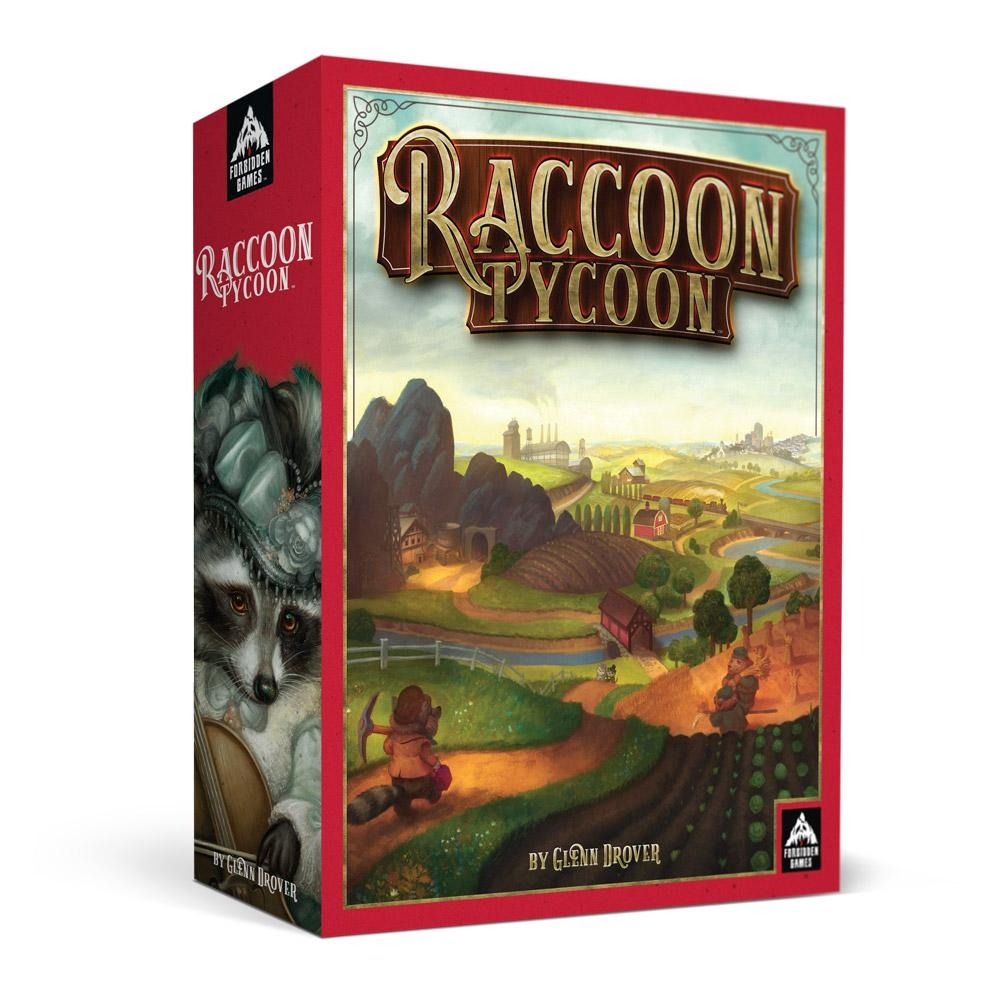 Raccoon Tycoon - Auction/Bidding - Board Games - Wayland Games