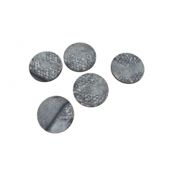 50mm Imperial City Bases x5