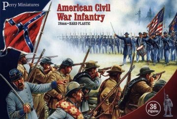 American Civil War Confederate Infantry WGP-ACW80 Perry Miniatures NEW IN BOX