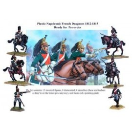 Napoleonic French Dragoons 1812-1815