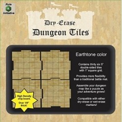 "Dry Erase Dungeon Tiles: Earthstone 5"" Square - 36 pack"
