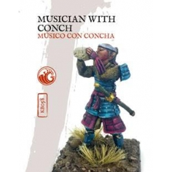 Musician with Conch