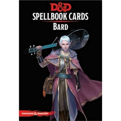D&D: Spellbook Cards: Bard Deck