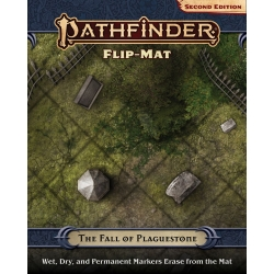 Pathfinder RPG Second Edition: Flip-Mat The Fall of Plaguestone