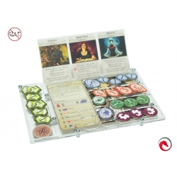 e-Raptor Organizer Compatible with Arkham Horror 3rd Ed