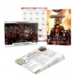 Warscroll Cards: Blades Of Khorne - English