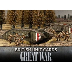 Great War - British Unit Cards