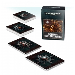 Datacards: Chaos Space Marines - English