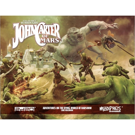 John Carter of Mars RPG: Adventures on the Dying World of Barsoom Core Rulebook