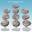 Stone Layers for 25mm Bases