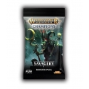 Warhammer Age of Sigmar: Champions Wave 3: Savagery Single Booster