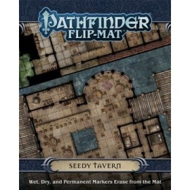 Pathfinder Flip Mat: Seedy Tavern