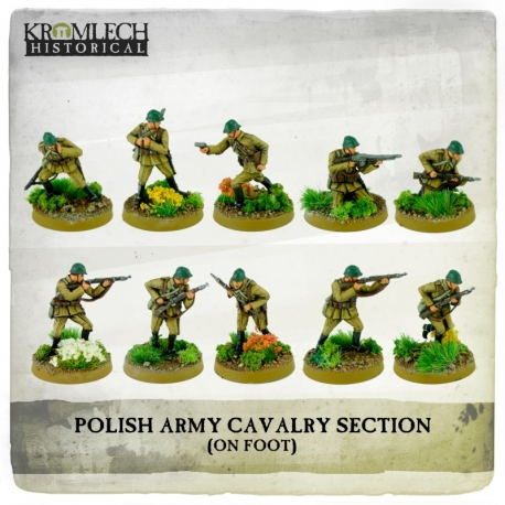 Polish Army Cavalry Section on Foot