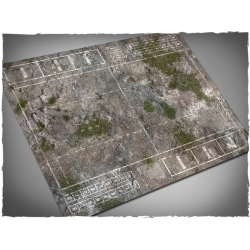 Fantasy Football Field, Medieval Ruins Theme Mousepad Games Mat