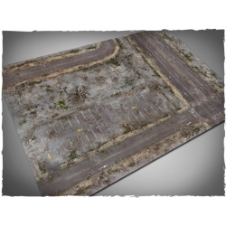 4ft x 6ft, Walking Dead City Theme Cloth Game Mat