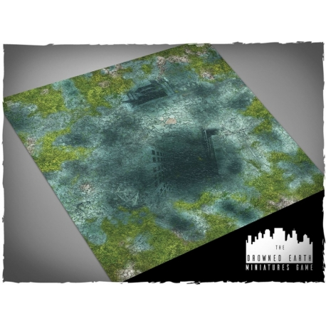 3ft x 3ft, Drowned Earth Theme Mousepad Game Mat