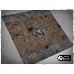 3ft x 3ft, Official Blacksmiths GB Pitch Mousepad Games Mat