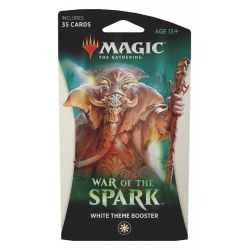 MTG: War of the Spark Theme Single Booster - White