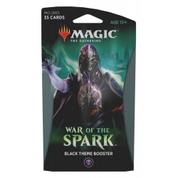 MTG: War of the Spark Theme Single Booster - Black