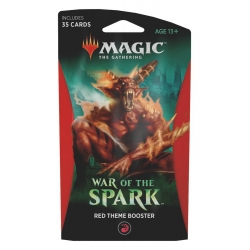 MTG: War of the Spark Theme Single Booster - Red
